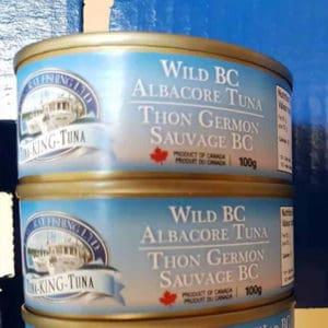Canned Wild BC Albacore Tuna - Tanya-Ray Fishing