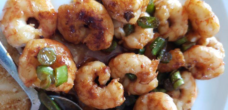Brown Butter Honey Garlic Shrimp