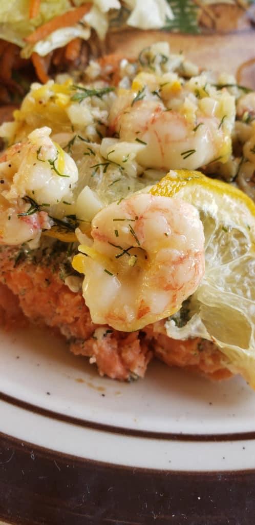 citrus-glazed-sockeye-salmon-and-garlic-shrimp