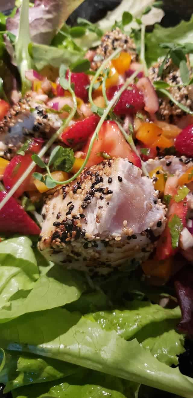Sesame Seared Albacore Tuna