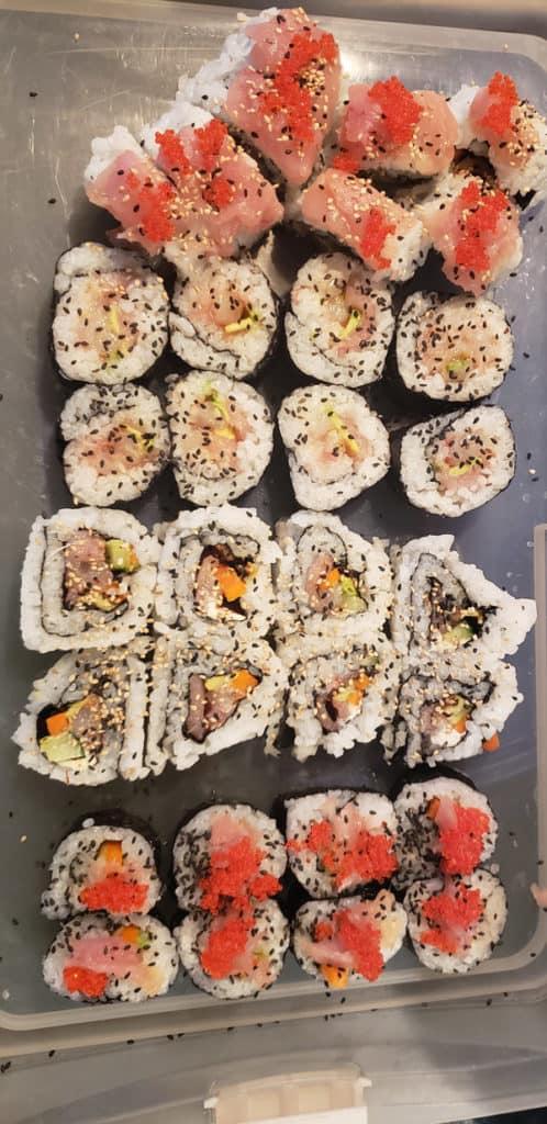 tuna-and-shrimp-sushi-rolls