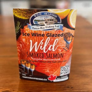 ice wine wild smoked salmon